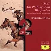 ロベルト・シドン/Liszt: The 19 Hungarian Rhapsodies / Roberto Szidon(p)[4530342]