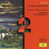 ヘルベルト・フォン・カラヤン/Liszt: Orchestral Works; Mazeppa, Hungarian Rhapsody No.2, 4, 5, etc / Herbert von Karajan(cond), Berlin Philharmonic Orchestra, Shura Cherkassky(p)[4531302]