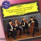 アマデウス弦楽四重奏団/Brahms: The String Quartets No.1-No.3; Dvorak: String Quartet No.12