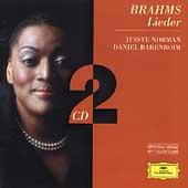 ジェシー・ノーマン/Brahms: Lieder -Liebestreu Op.3-1, Spanisches Lied Op.6-1, etc (1981-82) / Jessye Norman(S), Daniel Barenboim(p)[4594692]