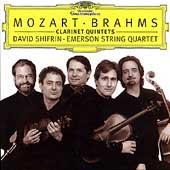 デイヴィッド・シフリン/Mozart: Clarinet Quintet K.581; Brahms: Clarinet Quintet Op.115 / David Shifrin(cl), Emerson Quartet[4596412]