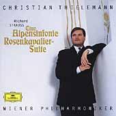クリスティアン・ティーレマン/R.Strauss: Eine Alpensinfonie; Rosenkavalier Suite[4695192]