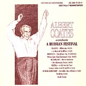 Albert Coates Conducts a Russian Festival - Liadov, et al