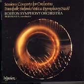 Sessions: Concerto for Orchestra;  Panufnik: Sinfonia Votiva