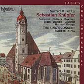 Bach's Contemporaries Vol 2 - Knuepfer: Sacred Music