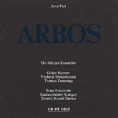 Part: Arbos / The Hilliard Ensemble, et al
