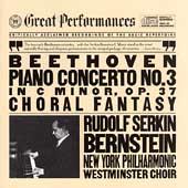 Beethoven: Piano Concerto no 3, etc / Serkin, Bernstein