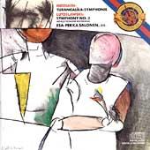 Messiaen: Turangalila-symphonie;  Lutoslawski / Salonen
