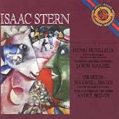 Dutilleux, Maxwell Davies: Violin Concertos / Isaac Stern