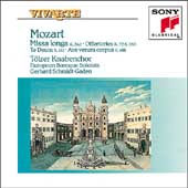 Mozart: Missa longa, etc / Schmidt-Gaden, Toelzer Knabenchor