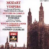 Mozart: Vesperae / Stephan Cleobury, Kings College Choir