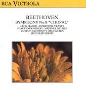 Beethoven: Symphony no 9 / Erich Leinsdorf, Boston SO