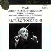Toscanini Collection Vol 56, 57 & 63 - Verdi: Aida, Falstaff
