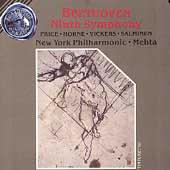 Beethoven: Ninth Symphony / Mehta, Price, Horne, NY Phil