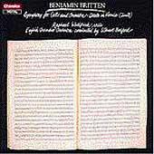 Britten: Cello Symphony, Death in Venice /Wallfisch, Bedford