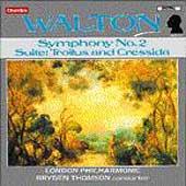 Walton: Symphony no 2, etc / Bryden Thomson, London PO
