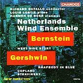 Bernstein: West Side Story; Gershwin, etc / Dufallo, Lortie