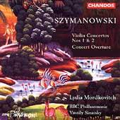 ヴァシリー・シナイスキー/Szymanowski: Violin Concertos 1 & 2, etc / Mordkovitch[CHAN9496]