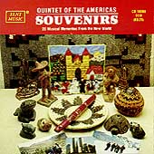 Souvenirs - 20 Musical Mementos from the New World