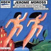 Moross: Symphony no 1, etc / Falletta, London SO