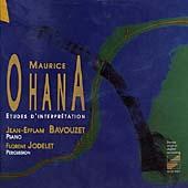 Ohana: Douze Etudes d'interpretation pour piano / Bavouzet, Jodelet