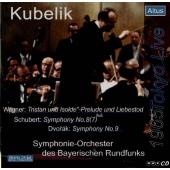 ラファエル・クーベリック/ワーグナー: 「トリスタンとイゾルデ」前奏曲と愛の死、シューベルト: 交響曲第8番「未完成」、ドヴォルザーク: 交響曲第9番「新世界」[ALT10]