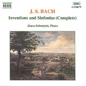 Bach J.s.: Inventions & Sinfonias[8550679]