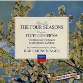 カール・ミュンヒンガー/ヴィヴァルディ:≪四季≫/ペルゴレージ:フルート協奏曲第1・2番<限定盤>[UCCD-7010]