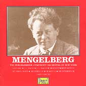 Willem Mengelberg and the Philharmonic-Symphony of New York