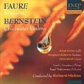 Faure: Requiem;  Bernstein: Chichester Psalms / Hickox