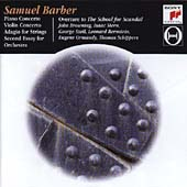 Barber: Orchestral Works