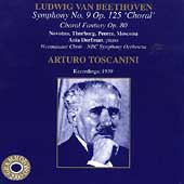 Beethoven: Symphony no 9, etc / Arturo Toscanini