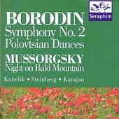 ウィーン・フィルハーモニー管弦楽団/Borodin: Symphony 2, Polovtsian Dances;  Mussorgsky[69021]