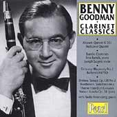 Benny Goodman - Clarinet Classics - Mozart, Bartok, Brahms
