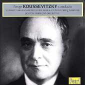 Koussevitzky conducts Schubert, Mendelssohn, Schumann