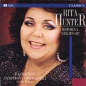 Rita Hunter - Ritorna Vincitor! / Franks, Tasmanian SO