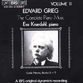 Grieg: Complete Piano Music Vol 2 / Eva Knardahl