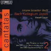 Bach: Cantatas Vol 2 / Suzuki, Bach Collegium Japan