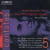 Bach: Cantatas Vol 5 / Suzuki, Mera, Sakurada, Kooij, et al