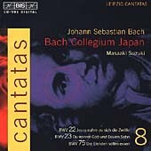 Bach: Complete Cantatas Vol 8 / Suzuki, Bach Collegium Japan