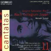 Bach: Cantatas Vol 11 - Cantatas from Leipzig 1723 / Suzuki et al