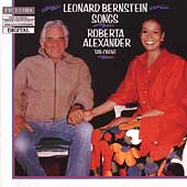 Bernstein: Songs / Roberta Alexander, Tan Crone