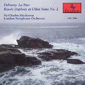 Debussy: La Mer;  Ravel: Daphnis et Chloe / Mackerras