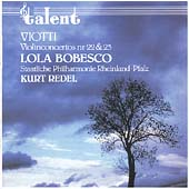 Viotti: Violin Concertos 22 & 23 / Lola Bobesco, Kurt Redel
