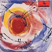 Capriccio - Mid-Century Music for Clarinet / Howard, Carno