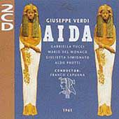Verdi: Aida / Capuana, Tucci, Del Monaco, Simionato