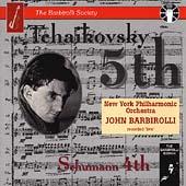 Tchaikovsky: Symphony no 5; Schumann / Barbirolli, New York