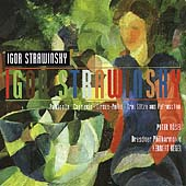 Stravinsky: Pulcinella, Capriccio, etc... / Peter Rosel, Herbert Kegel