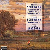 R. Schumann, C. Schumann: Romanzen, etc / Patrizio Mazzola