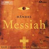 Haendel: Messiah / Suzuki, Bach Collegium Japan
